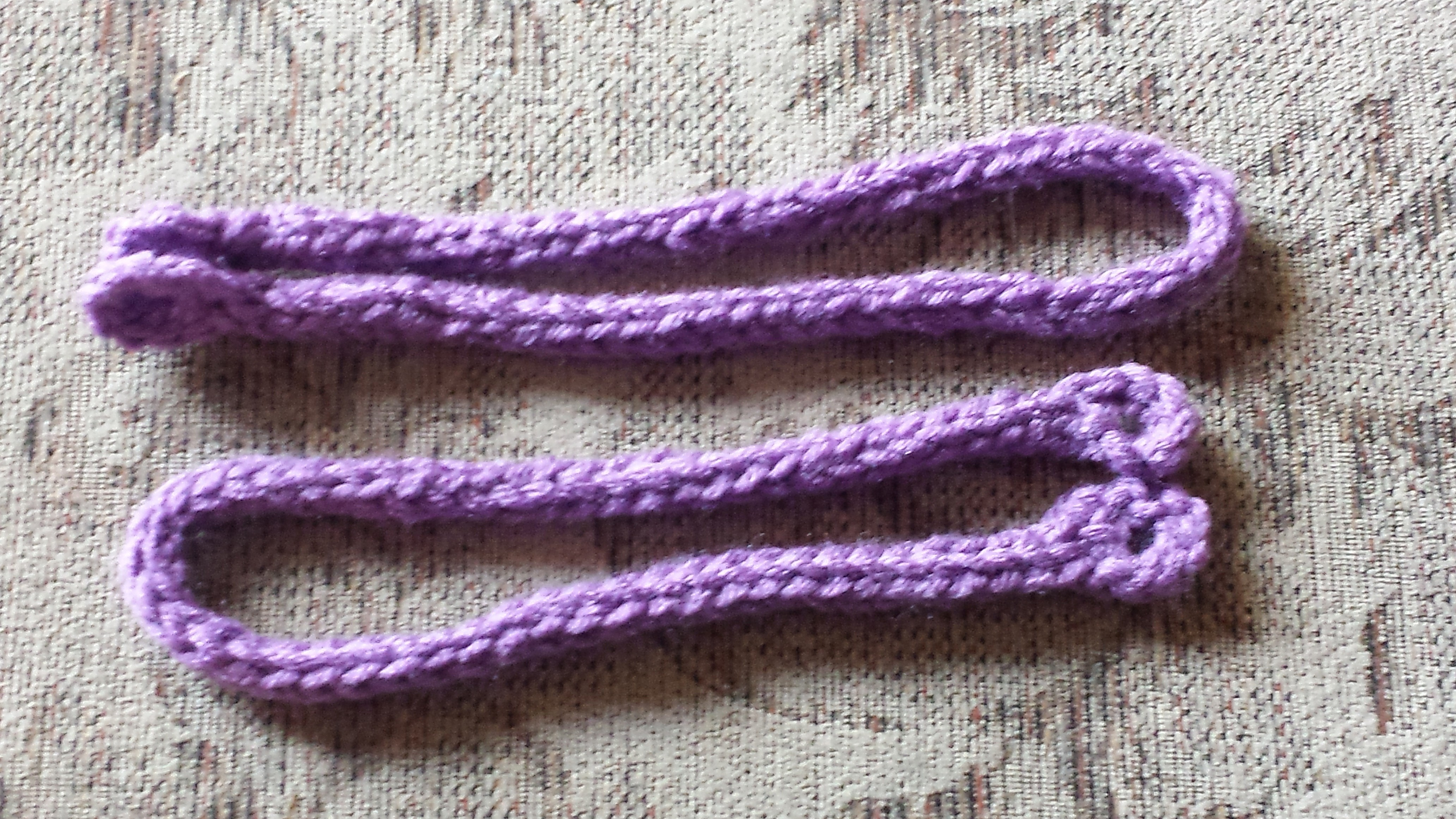 Crochet I – Cord Curtain Tie Backs Tiebacks – KarenGlasgowFollettDesigns