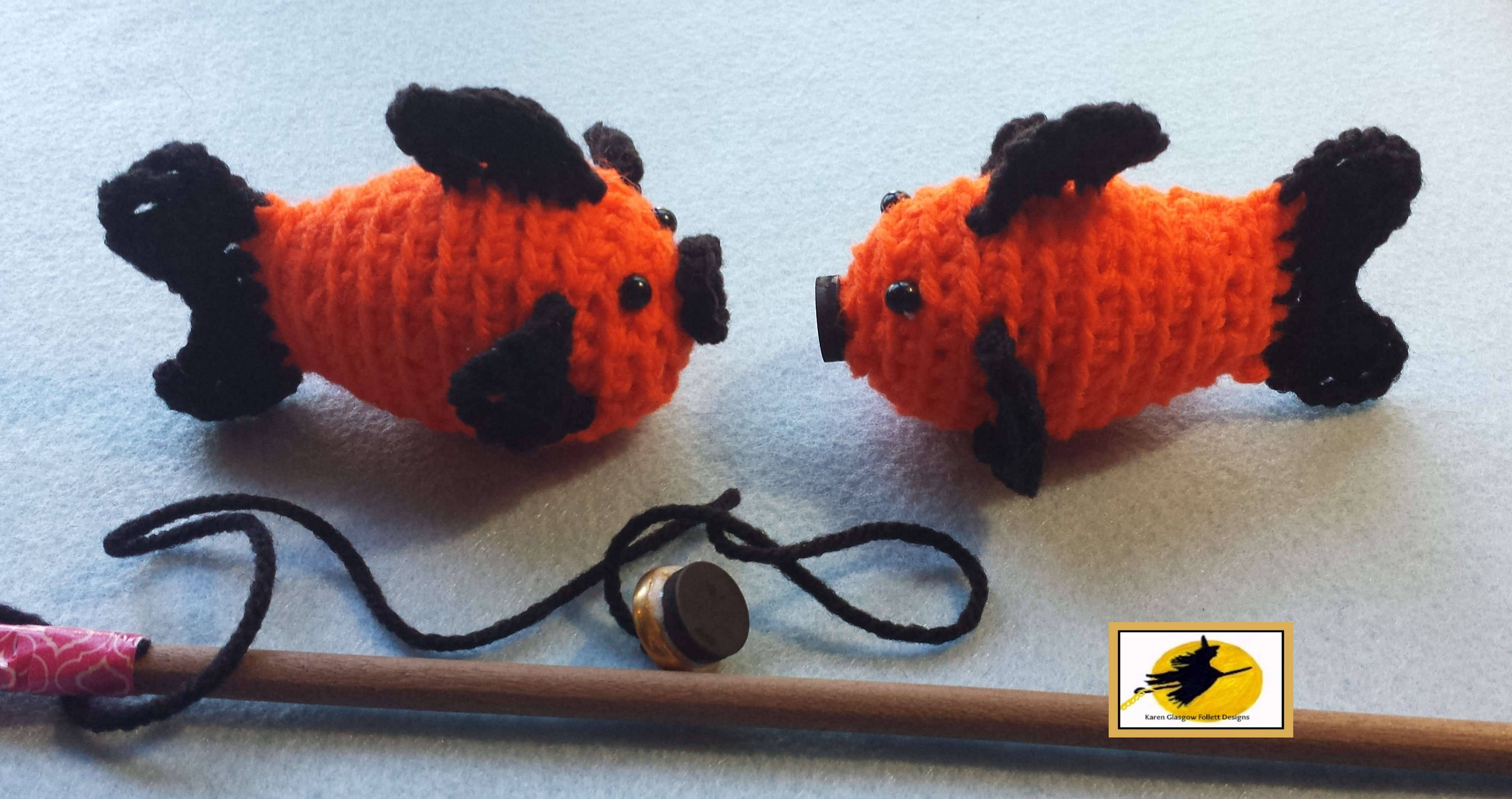 Crochet Amigurumi Fish Pattern- Catch Me If You Can ...