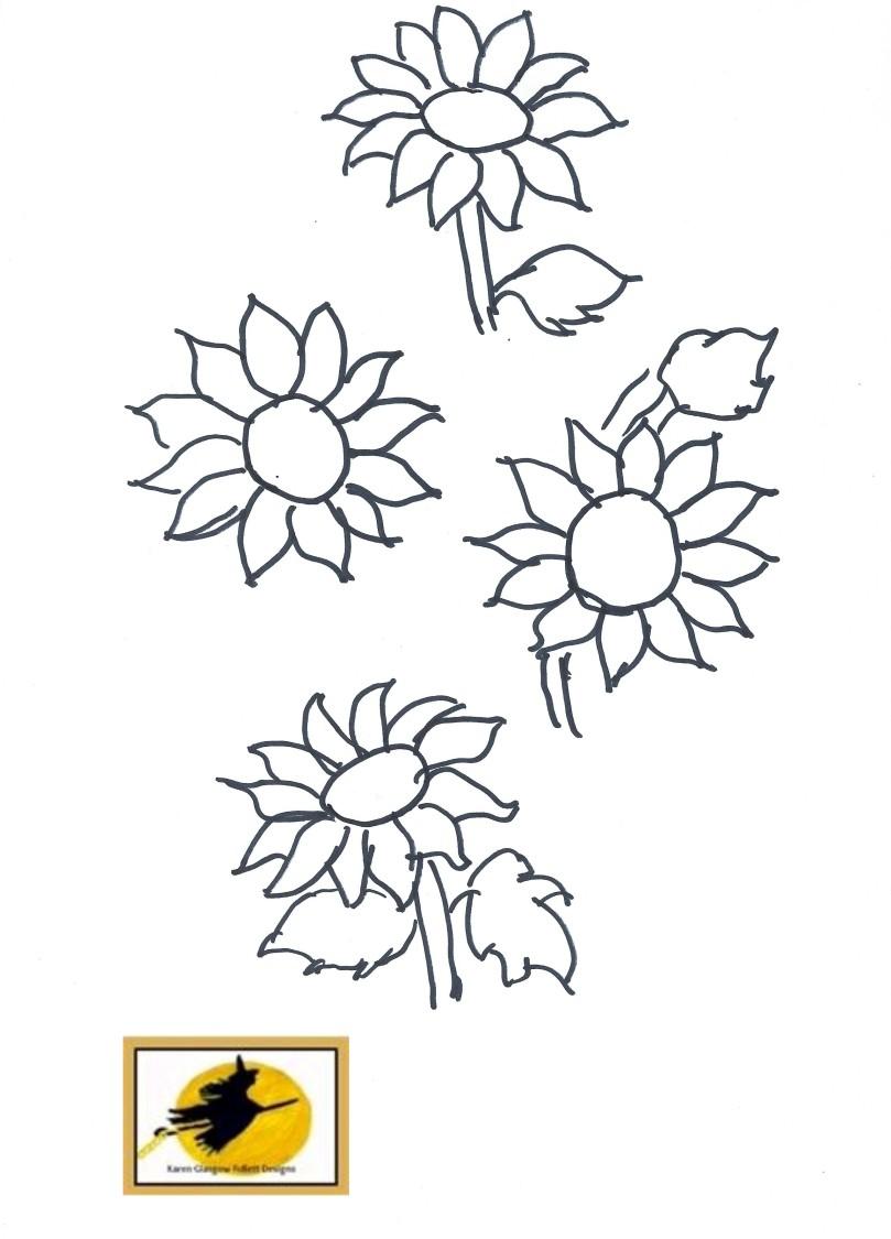 sunflowerembroidery