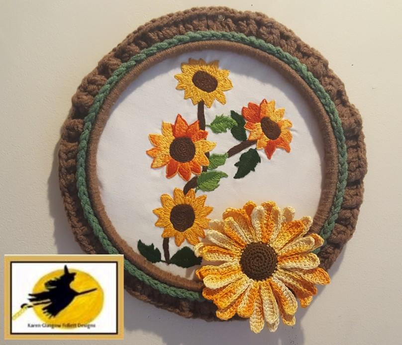 sunflowerwreath